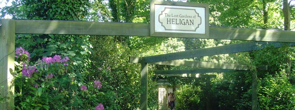 entrance to the Lost Gardens of Heligan