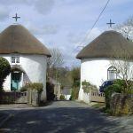 round houses at Veryan
