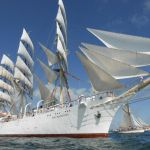 Tall ships in Falmouth 2014