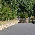 dog and nature walk entrance